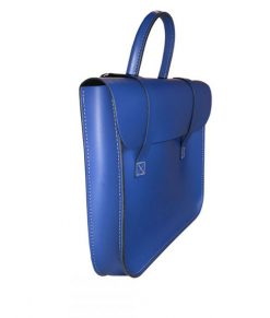 Music Case in Royal Blue Leather